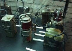 kolekcja lamp górniczych