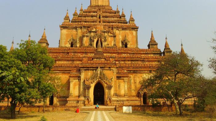 Typowa birmańska pagoda