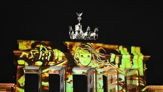 Festiwal świateł w Berlinie