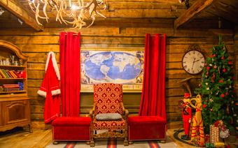 Wioska Świętego Mikołaja w Rovaniemi w Laponii