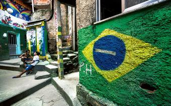 Fawele w Rio de Janeiro