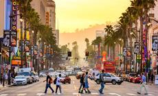Zwiedzanie Los Angeles warto zacząć od Hollywood Boulevard