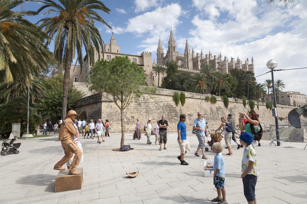 Palma de Mallorca: uliczni artyści
