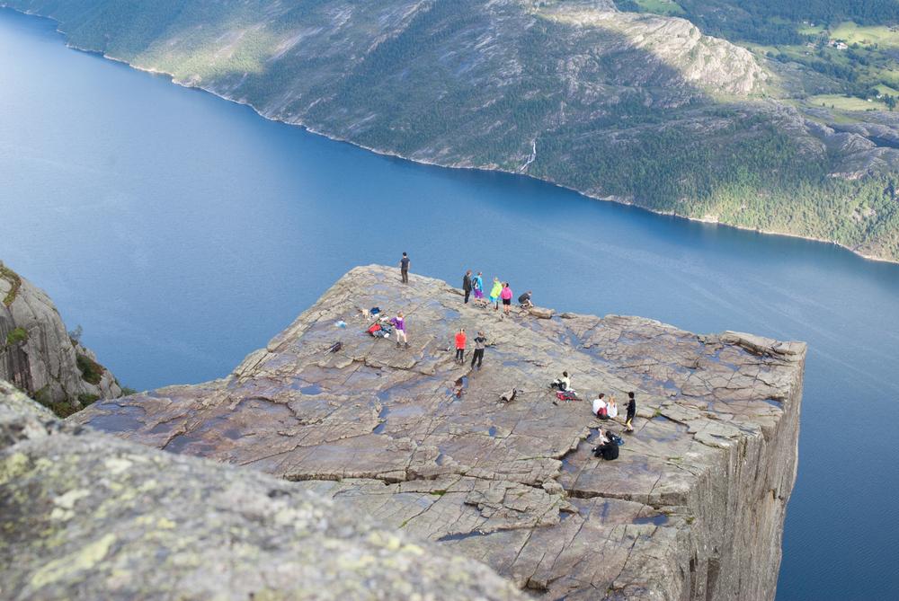 Norwegia: Preikestolen