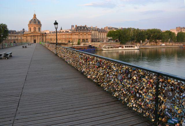 Most Ponts des Arts w Paryżu