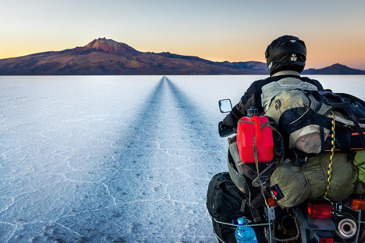W drodze do wulkanu Tunupa w Boliwii