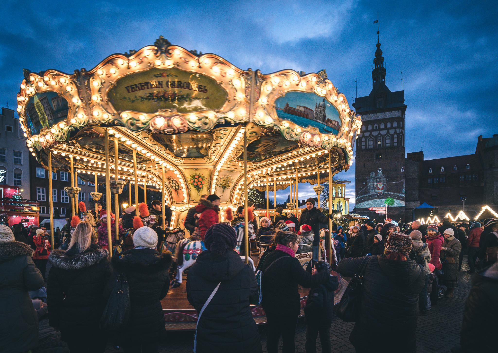Jarmark bożonarodzeniowy w Gdańsku